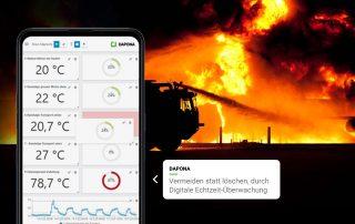 Digitale Brandvermeidung mit Dapona