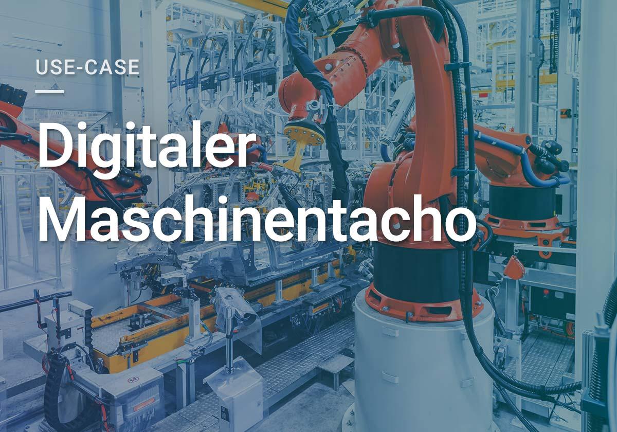 DAPONA Digitaler Maschinentacho